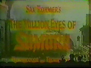 The Million Eyes of Sumuru