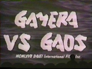 Gamera vs. Gaos